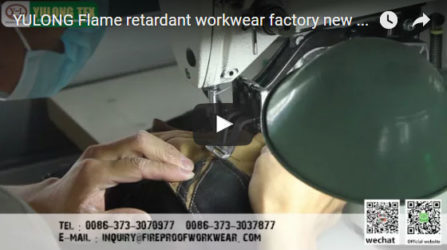 Yulong Flame Retardant Workwear Factory new video 5