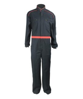 cotton polyester arc flash coveralls