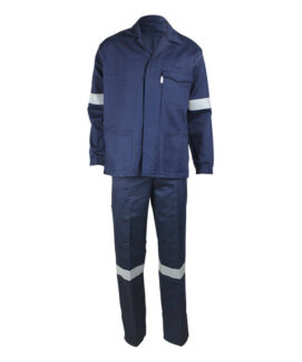 navy blue ARC anti-static suits
