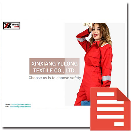 Yulong-Textile-Protective-Clothing-Catalogue-Ebook
