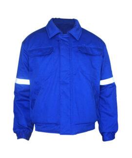 royal blue winter flame resistant jacket